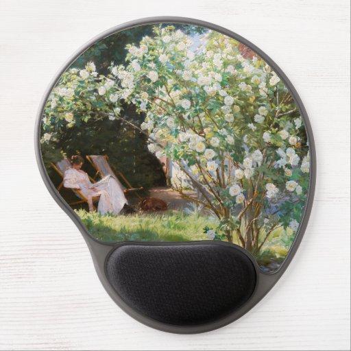 Peder Severin Kroyer - Roses Gel Mouse Pad