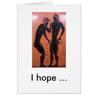 Pederastic Courtship, I hope ... Card
