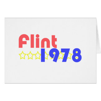 Pedernal 1978 tarjeta de felicitación