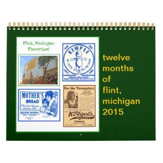 Pedernal, calendario I de Michigan 2014