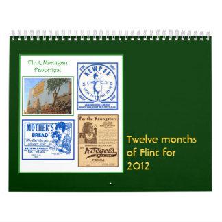 Pedernal, Michigan 2012 Calendarios