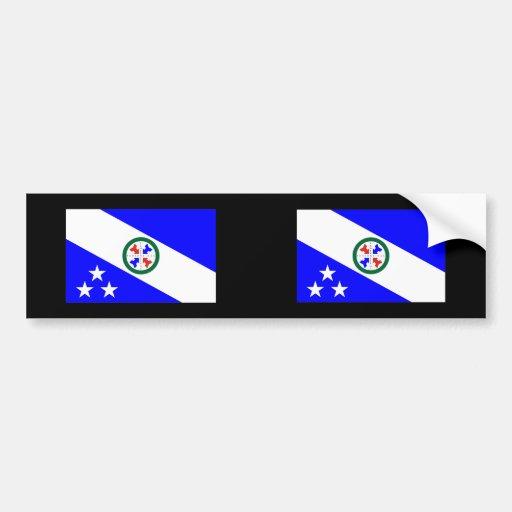 Pederneiras, Brazil Car Bumper Sticker