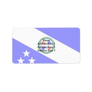 Pederneiras Saopaulo Brasil, Brazil Address Label