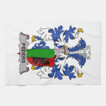 Peders Family Crest Hand Towel