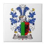 Peders Family Crest Tiles