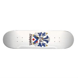 Pedersen Family Crest Custom Skate Board