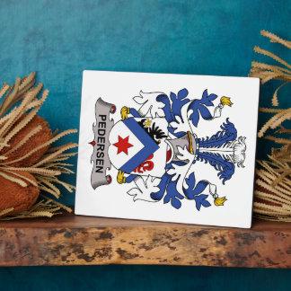 Pedersen Family Crest Plaques