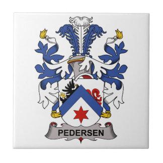 Pedersen Family Crest Tile