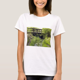 Pedestrian Bridge over a Creek T-Shirt