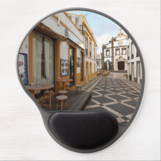 Pedestrian street gel mouse pad
