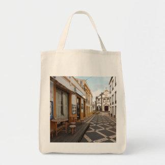 Pedestrian street tote bag