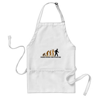 Pedestrians Are Evolved Adult Apron