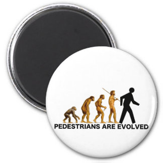 Pedestrians Are Evolved Magnet