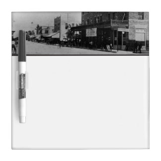 Pedestrians, cyclists, and horse-carriages Dry-Erase board