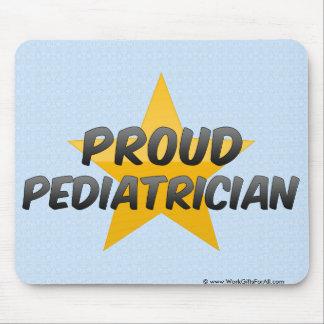 Pediatra orgulloso tapetes de ratones