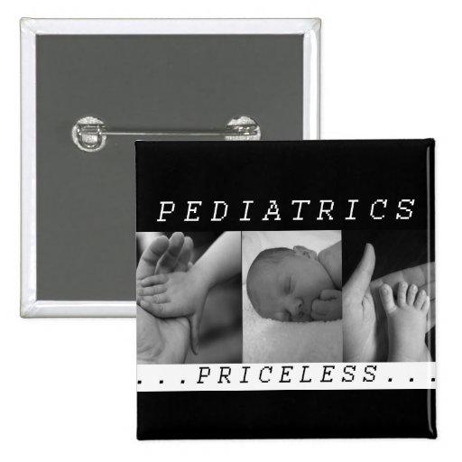 - Pediatría - BEBÉ/NIÑO inestimables - ENFERMERA Pins