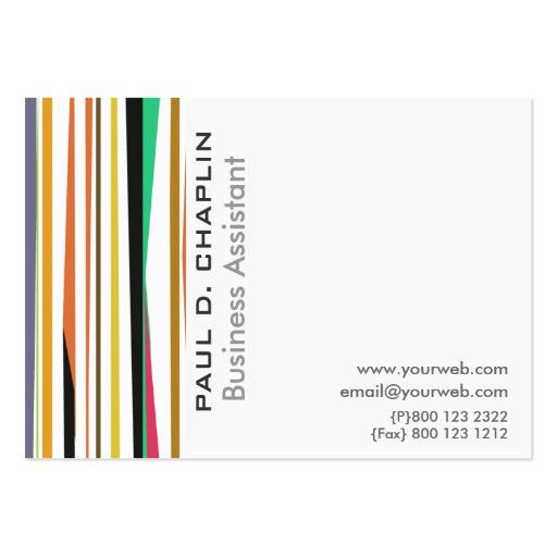 Pediatric Affordable Business Card Templates