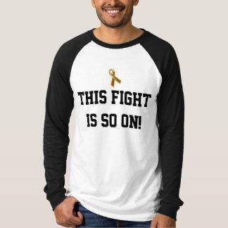 Pediatric Cancer Daddy T-Shirt