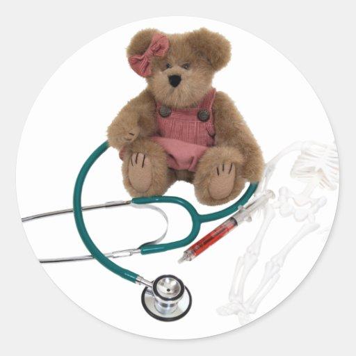 Pediatric care round sticker