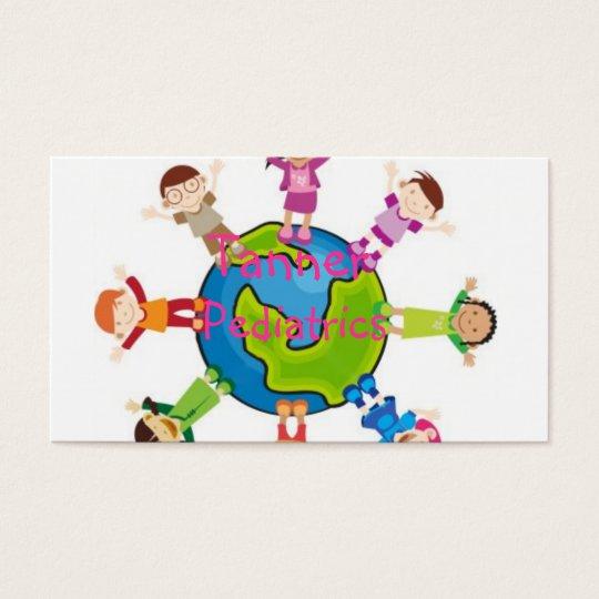 Pediatric doctor business card