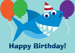 Pediatric Kids Medical Dental Patient Birthday Card