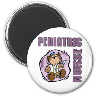 Pediatric Nurse 2 Inch Round Magnet