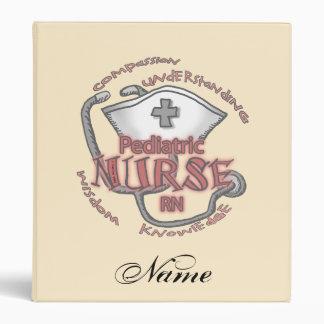Pediatric Nurse 3 Ring Binder