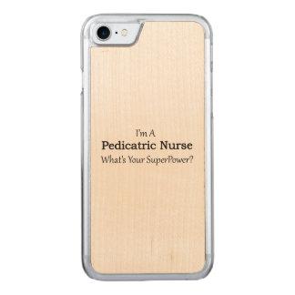 Pediatric Nurse Carved iPhone 7 Case