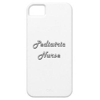 Pediatric Nurse Classic Job Design iPhone 5 Cases