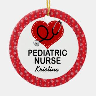Pediatric Nurse Custom Gift Ornament