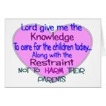 Pediatric Nurse Gifts--Hilarious sayings Cards
