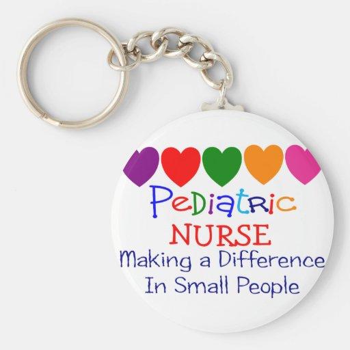 Pediatric Nurse Gifts Key Chain