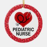 Pediatric Nurse Job Gift Ornament