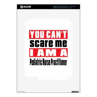 Pediatric Nurse Practitioner scare designs Decal For iPad 3