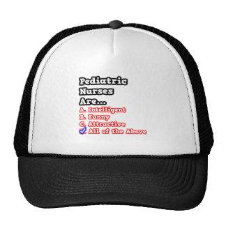 Pediatric Nurse Quiz...Joke Mesh Hat