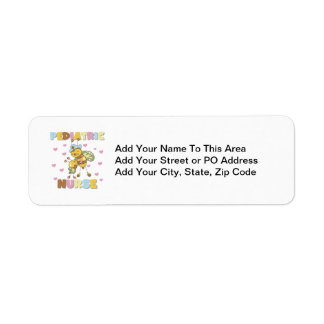 Pediatric Nurse T-shirts and Gifts Label