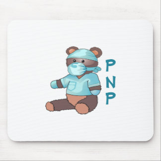 PEDIATRIC NURSE TEDDY BEAR MOUSE PAD