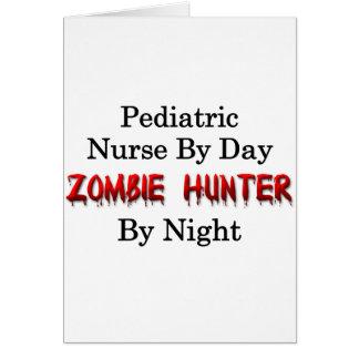 Pediatric Nurse/Zombie Hunter Card