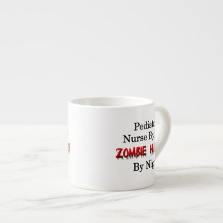Pediatric Nurse/Zombie Hunter Espresso Cup