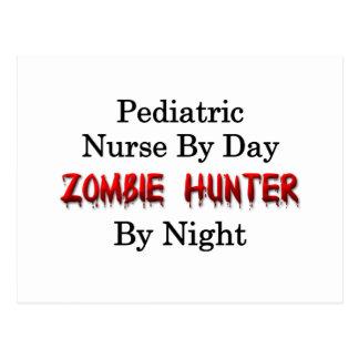 Pediatric Nurse/Zombie Hunter Postcard
