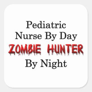 Pediatric Nurse/Zombie Hunter Square Sticker