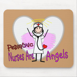 Pediatric Nurses are Angels Mouse Pad