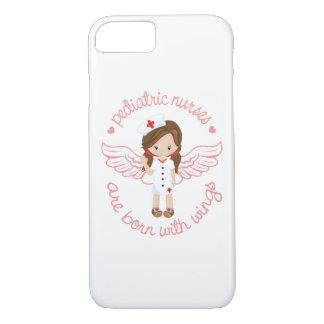 Pediatric Nurses Are Born With Wings iPhone 7 Case