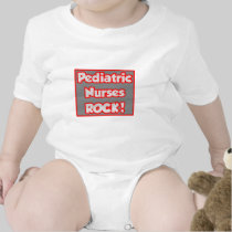 Pediatric Nurses Rock! Bodysuits