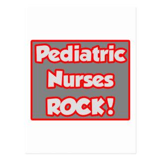 Pediatric Nurses Rock! Postcard