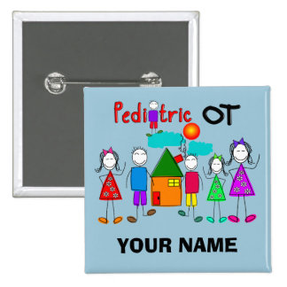 Pediatric Occupational Therapist Buttons