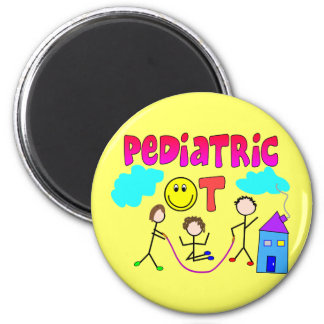 Pediatric Occupational Therapist Gifts 2 Inch Round Magnet