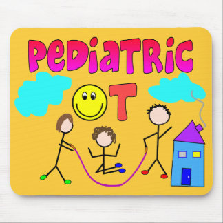 Pediatric Occupational Therapist Gifts Mouse Pad