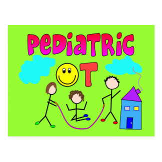 Pediatric Occupational Therapist Gifts Postcard