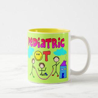 Pediatric Occupational Therapist Gifts Two-Tone Coffee Mug